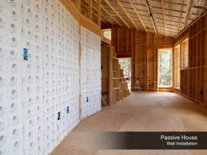 2-Passive House Wall Installation